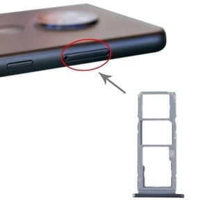 SIM-kaartlade + SIM-kaartlade + Micro SD-kaartlade voor Nokia 7.2 / 6.2 TA-1196 TA-1198 TA-1200 TA-1187 TA-1201(Zilver)