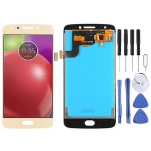 LCD Screen and Digitizer Full Assembly for Motorola Moto E4 XT1763 (Brazil Version) (Gold)