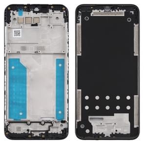 Middle Frame Bezel Plate voor LG Q51 / LM-Q510N (Zwart)