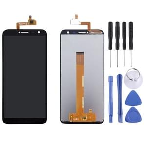 LCD Screen and Digitizer Full Assembly for OUKITEL C8 (Black)