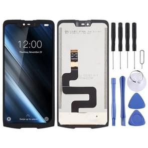 Touch Panel + LCD Full Assembly voor Doogee S90 Pro(Zwart)