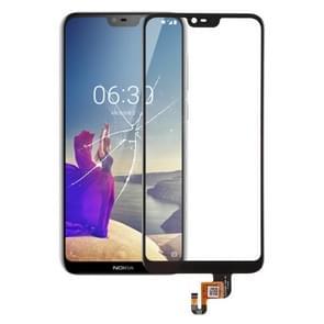 Touch Panel voor Nokia X 6 (2018)(Black)