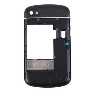3 in 1 voor BlackBerry Q10 (middelste Frame Bezel  toetsenbord + achterplaat huisvesting Camera Lens Panel) volledige vergadering huisvesting Cover