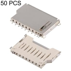 50 PCS Short Design SD Booth Memory Card Sets Socket SD Card Connector