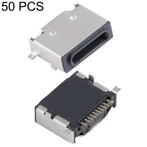 50 PCS Apple Base Case Coated Tin Coil, H Type