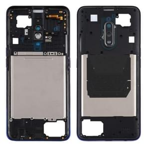 Middle Frame Bezel Plate voor OPPO Realme X (Paars)