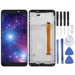 LCD Screen and Digitizer Full Assembly for Ulefone P6000 Plus (Black)