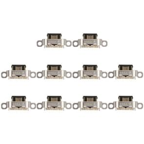 10 PCS Charging Port Connector for Meizu 16X / Meilan 5