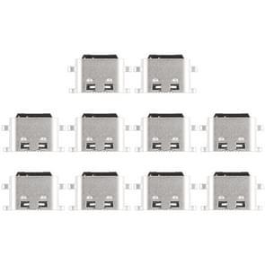 10 stuks Port-Connector opladen voor Meizu Meilan X