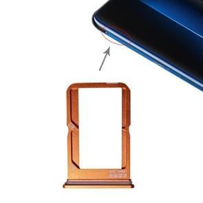 SIM Card Tray + SIM Card Tray for Vivo iQOO (Orange)