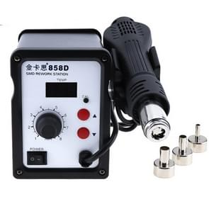 Kaisi K-858D SMD Hot-Air Soldering Station LED Digital Display Support Controllable Temperature for Desoldering + Air Nozzles, EU Plug