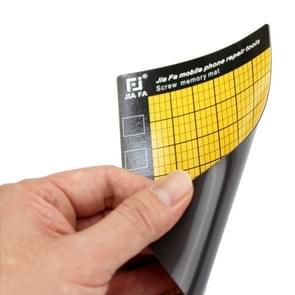 JF-869 universele magnetische schroeven Mat voor telefoon reparatie  maat: 14.5x9cm