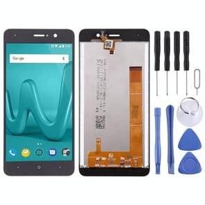 LCD Screen and Digitizer Full Assembly for Wiko Lenny4(Black)