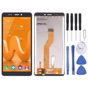 LCD Screen and Digitizer Full Assembly for Wiko Jerry 3(Black)
