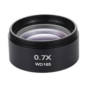 Stereo microscopen Hulp objectief lens barlow lens vergrootglas 0 7X WD165