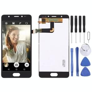 LCD Screen and Digitizer Full Assembly for Wiko U Feel Prime(Black)