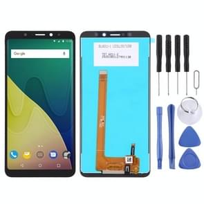 LCD Screen and Digitizer Full Assembly for Wiko View XL(Black)