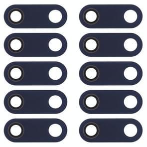 10 PCS Back Camera Lens voor Nokia 5.1 / TA-1024 / TA-1027 / TA-1044 / TA-1053 / TA-1008 / TA-1030 / TA-1109