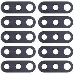 10 PCS Back Camera Lens voor Nokia 4.2 / TA-1184 / TA-1133 / TA-1149 / TA-1150 / TA-1157(Zwart)