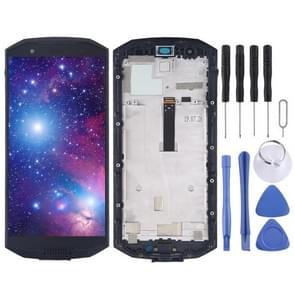 LCD-scherm en digitizer volledige assemblage voor Doogee S70 Lite (zwart)