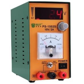 BEST-1502s 15V/2A hoge precisie verstelbare digitale AC DC voeding (voltage 220V)