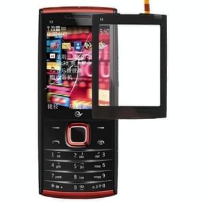 Touch paneel voor Nokia X3-02(Black)