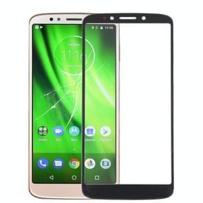 Front screen buitenste glazen lens voor Motorola Moto G6 spelen (zwart)