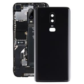 Smooth Surface Battery Back Cover for OnePlus 6(Black)