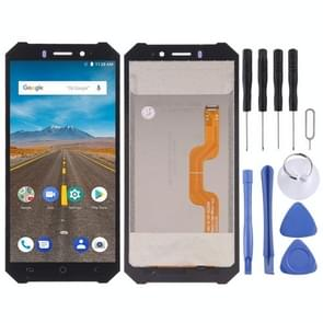 LCD Screen and Digitizer Full Assembly for Ulefone Armor X(Black)