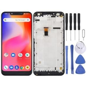 LCD Screen and Digitizer Full Assembly for Ulefone S10 Pro(Black)