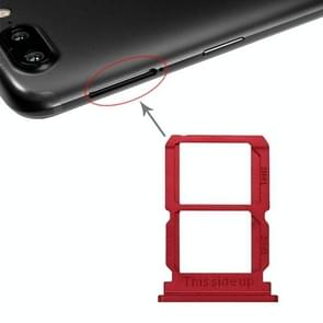 Red SIM Card Tray + SIM Card Tray for OnePlus 5T A5010