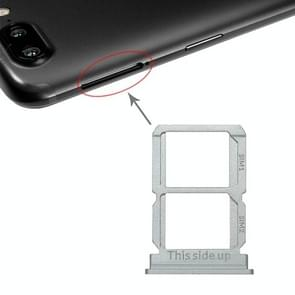 Silver SIM Card Tray + SIM Card Tray for OnePlus 5T A5010