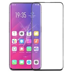 Front Screen Outer Glass Lens for OPPO Find X (Black)