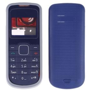 Volledige behuizing cover (front cover + middelste frame bezel + batterij achtercover + toetsenbord) voor Nokia 1202