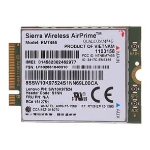 EM7455 Sierra Wireless FDD/TDD LTE Cat6 4G module  4G-kaart voor Lenovo laptop ThinkPad P50 P50S P40 yoga L460 T460 T460P T460S