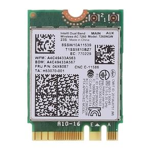 Dual band AC1200 Wireless NGFF M. 2 WiFi kaart 7260NGW 7260AC netwerkkaart voor Lenovo T440 X240 B40 B50 Y40 Y70 Y50 7260AC