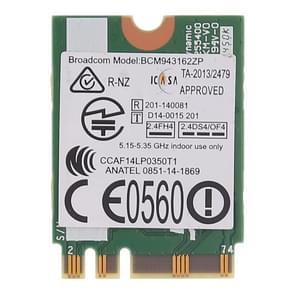 BCM943162ZP draadloze netwerkkaart voor Lenovo E450 E550 E455 E555 M50-70 M50-80 G70-70 G70-80 Z70-80 G50-30 G50-45 G50-70