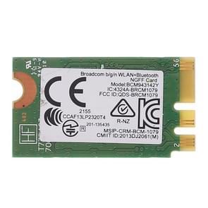 BCM943142Y M. 2 NGFF draadloze 150Mbps 802.11 b/g/n Bluetooth 4 0 netwerkkaart
