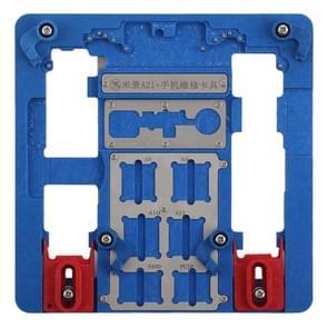Mijing A21 Phone Motherboard Repairing Fixing Holder for iPhone 8 Plus / 8 / 7 Plus / 7 / 6s Plus / 6s / 6 Plus / 6 / 5s
