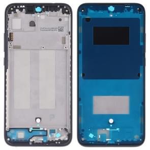 Middelste frame bezel plaat met Zijkleutels voor Xiaomi Redmi 7 (zwart)