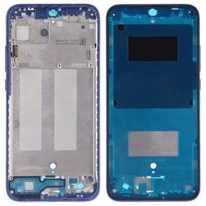 Middle Frame Bezel Plate with Side Keys for Xiaomi Redmi 7 (Blue)