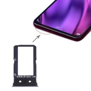 SIM Card Tray + SIM Card Tray for Vivo NEX Dual Display (Black)