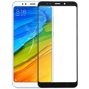 Front Screen Outer Glass Lens for Xiaomi Redmi 5 Plus(Black)