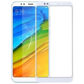 Front Screen Outer Glass Lens for Xiaomi Redmi 5 Plus(White)