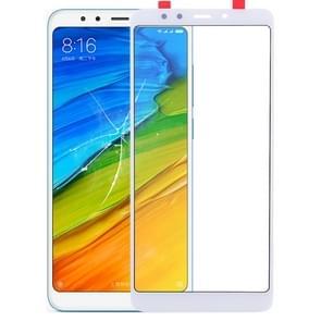 Front screen buitenste glazen lens voor Xiaomi Redmi 5 (wit)