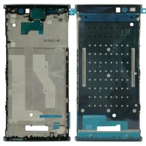 Front Housing LCD Frame Bezel for Sony Xperia XA2 Plus(Blue)