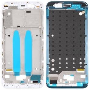 Front behuizing LCD-frame bezel voor Xiaomi mi 5X/a1 (wit)