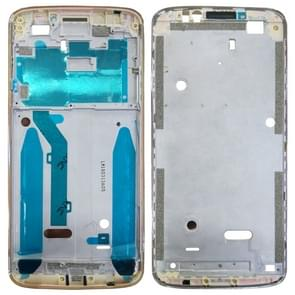 Front Housing LCD Frame Bezel for Motorola Moto G6 Play (Gold)