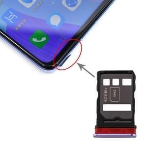 SIM-kaartlade + SIM-kaartlade voor Huawei nova 6 (Paars)