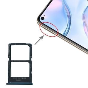 SIM-kaartlade + NM-kaartlade voor Huawei nova 6 SE (Blauw)